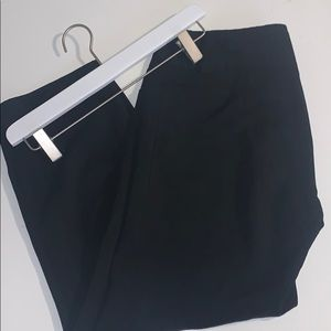 Trina Turk Wide Leg Crop Black Pants Size 4 GUC